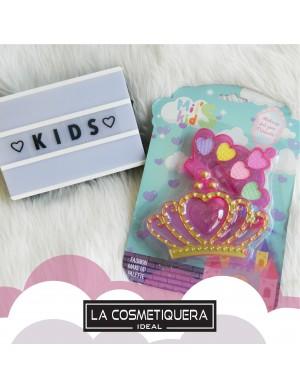 Kit Maquillaje Niñas Corona