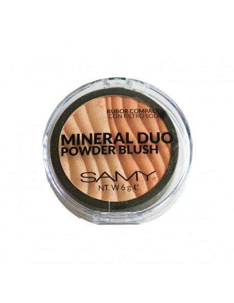 Rubor Mineral Duo Orange tono 3 Samy